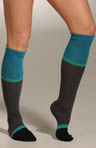 Color Block Knee Sock