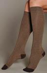 Ministripe Knee Sock