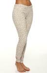 Leopard Jeans Leggings