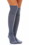 Cuffed Tweed Knee Sock
