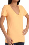 Solid Perfect V Neck Tee