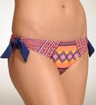 Mayan Stripe Hipster Tie Swim Bottom