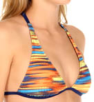 It's Electric Halter Swim Top
