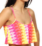 Looking Glass Crop Top Swim Top