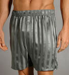 Luxe Striped Silk Boxer