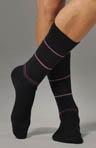 Spaced Stripe Sock