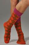 Small Modern Argyle Sock