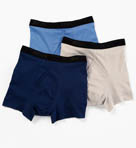 Stay Cool Classic Fit Boxer Briefs - 3 Pack