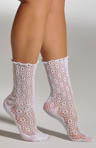Open Crochet Anklet Socks