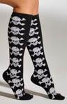 Skull Knee High Socks