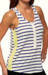 Sidewalk Cafe Striped Tank