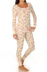 Quite The Character Thermal Pajama Set