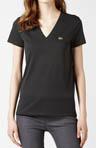 Short Sleeve Jersey V-Neck T-Shirt