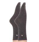 Cable Poly Blend Trouser Socks - 2 Pair Pack