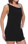 Skinny Brianna Swim Dress With Contrast Bottom
