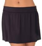 Solid Pull On Skirt Swim Bottom