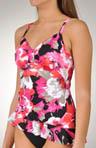 Tribal Floral Tango Tankini Swim Top