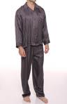 Striped Jacquard Pajama Set