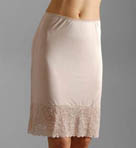Silk Knit 21 Inch Half Slip With Lace