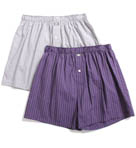 Hanging Woven Boxers - 2 Pack