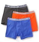 Soft Touch Cotton Boxer Briefs - 3 Pack