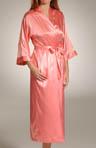 Hydrangea Solid Long Kimono