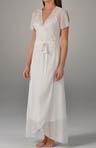 Desiree Long Chiffon Robe