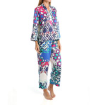 Turkish Floral Printed Charmeuse Pajama Set
