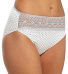 Wonderful Edge Lace Trim Hi-Cut Panty