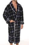 Printed Plush Robe