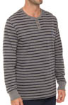 Long Sleeve Stripe Henley