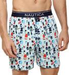 Buoy Print Knit Boxer