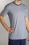 Striped Pima Cotton Sleep Shirt