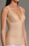Thinvisible Firming Microfiber Camisole with Lace