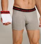 Contrast Waistband Boxer Briefs - 2 Pack