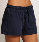 Petal Ombre Satin Panel Shorts