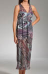 Wild Animal Printed Maxi Gown