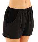 Washed Satin Shorts