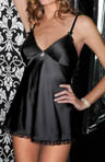 2 Piece Flyaway Babydoll With Ruched Back Panty