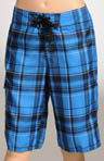 Boys Santa Cruz Plaid 2 Boardshort