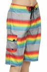 Boys S.C. Stripe Boardshort