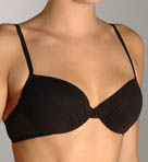 Mesh Contour Demi with Shirring Bra