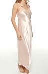 Lace Trellis Long Gown