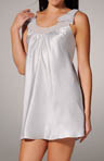Romantic Dreams Solid Charmeuse Chemise