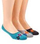 Argyle No See'um Socks - 3 Pack