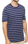 Americana Stripe Crew Neck T-Shirt