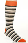 Duffle Bag Stripe Crew Sock