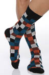 Portland Plaid Crew Sock