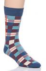 Workshirt Plaid Crew Sock