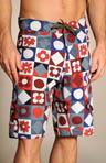 Kinder Quilt Wavefarer Board Shorts